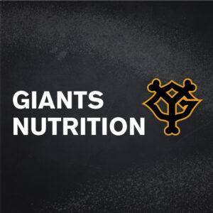 公認スポーツ栄養士 斉藤裕子のGIANTS NUTRITION