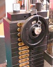 プレートを使った細かい重量設定方法