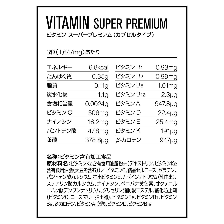 マルチ ビタミン 飲む タイミング